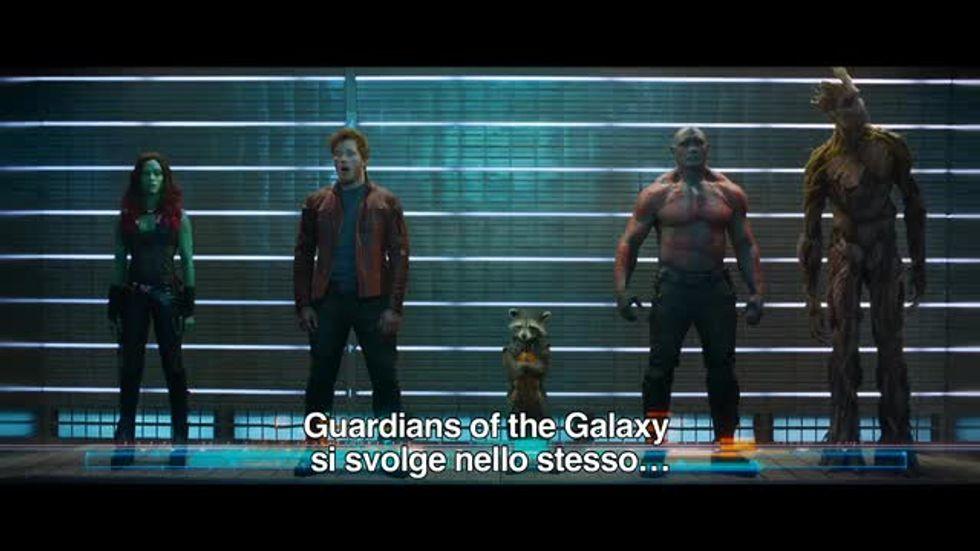 Guardiani della Galassia, il nuovo film Marvel - Video in anteprima