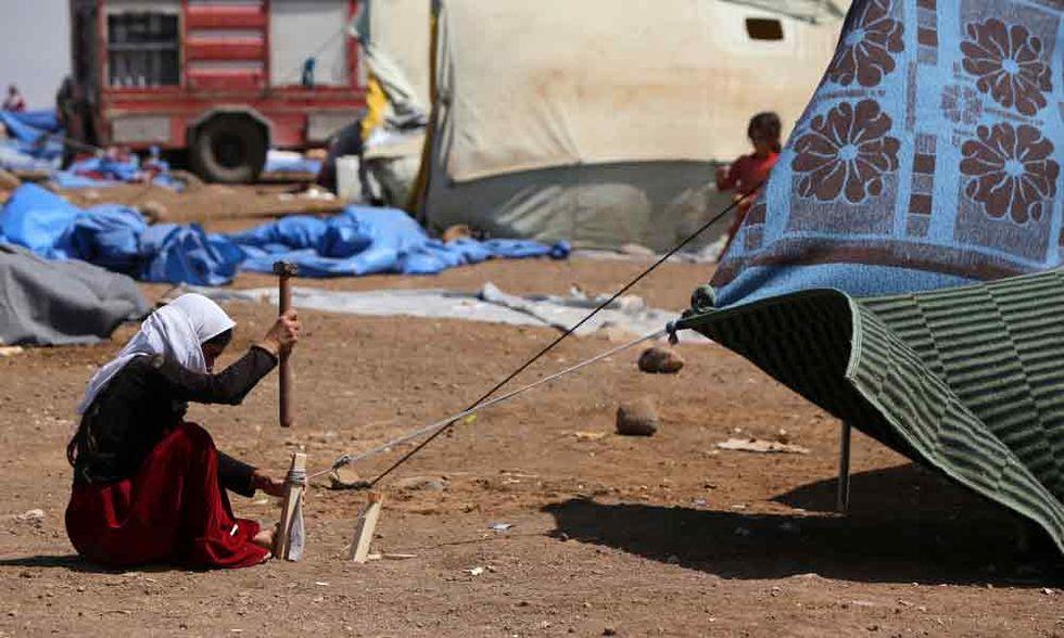 I numeri della drammatica crisi umanitaria in Medioriente