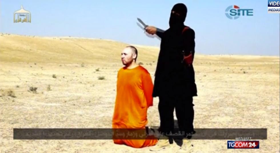 Il video della decapitazione di Steven Sotloff