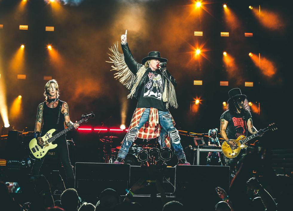 Guns N' Roses: il grande ritorno di Axl e Slash a Firenze Rocks