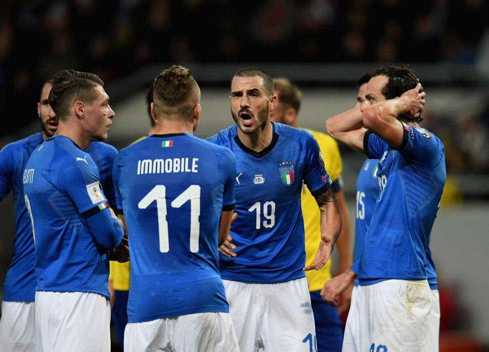 svezia italia spareggio mondiali russia 2018