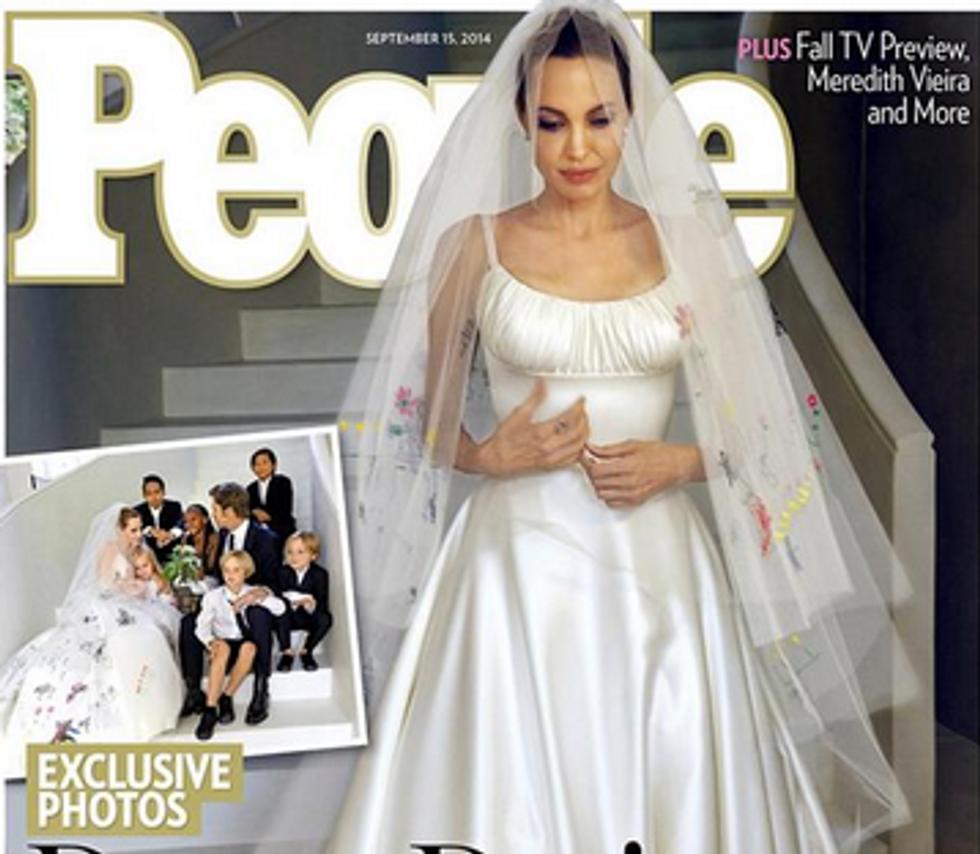 Angelina Jolie e Brad Pitt: le prime foto del matrimonio dell'anno