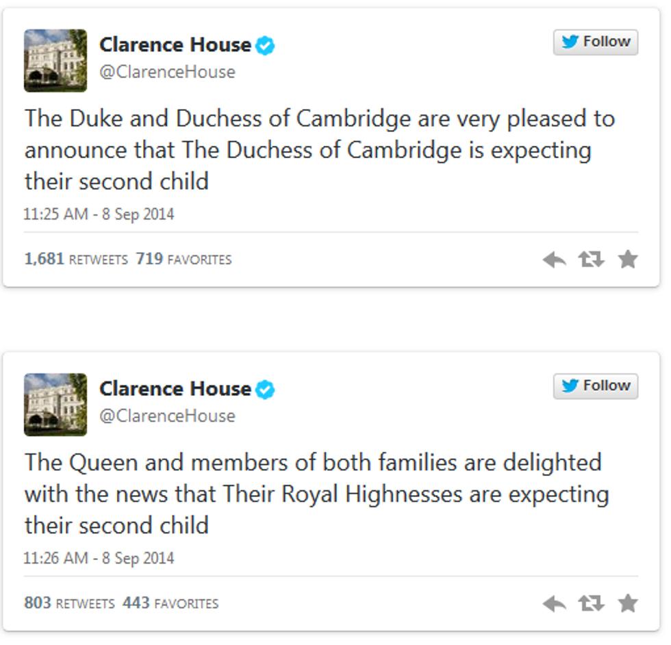 In arrivo il secondo figlio per Kate e William: è ufficiale