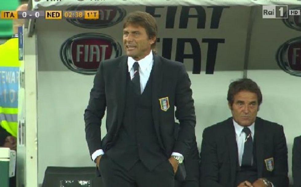 Ascolti 4/9: Conte vince, ma fa peggio del debutto di Prandelli