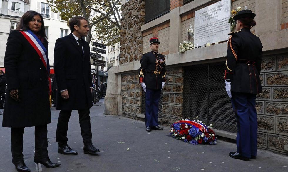 2° anniversario attacchi di Parigi