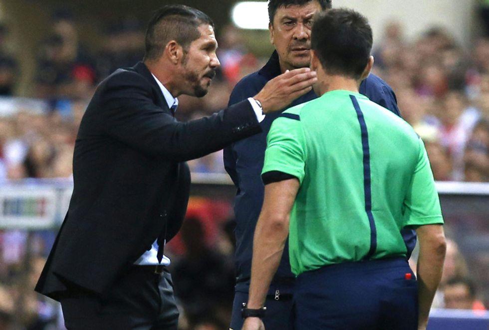 Liga: 8 giornate di squalifica a Diego Simeone