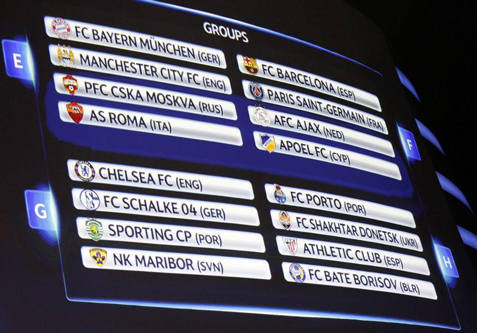 Champions League: alla scoperta delle avversarie di Juve e Roma
