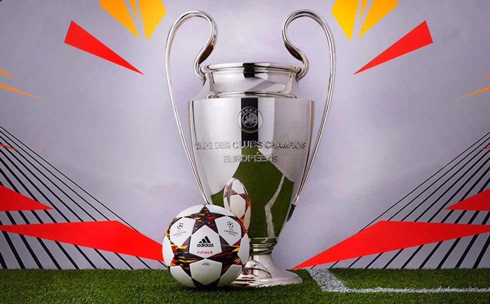 Il nuovo pallone ufficiale della Champions League 2014-2015