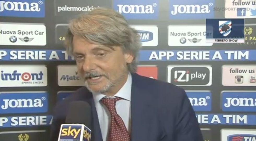 """Ferrero-show: """"Alla D'Amico faccio fare un grande film. Miha? Ci amiamo"""" - VIDEO"""