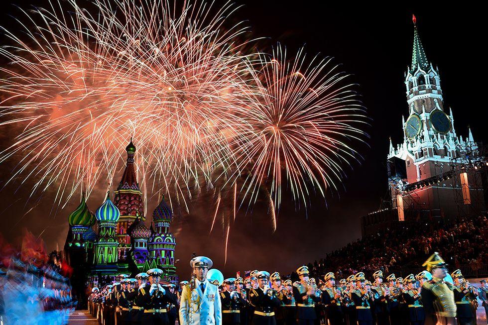 Il Festival internazionale della musica militare a Mosca
