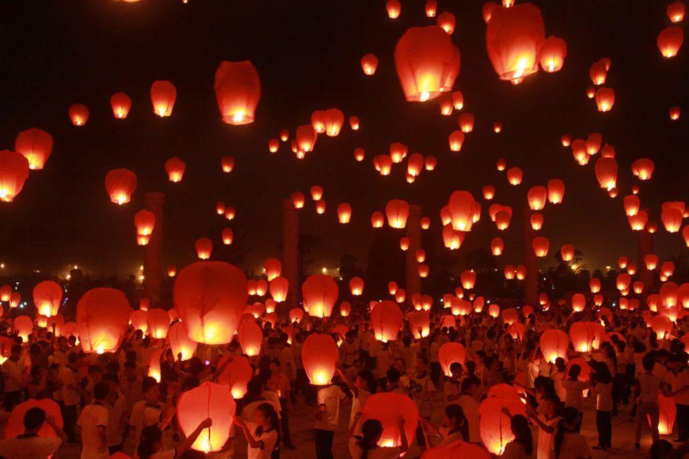 Foto dalla Festa di metà autunno in Cina