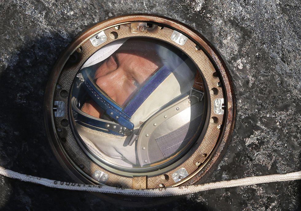 Il ritorno dei cosmonauti: l'atterraggio della Soyuz - Foto