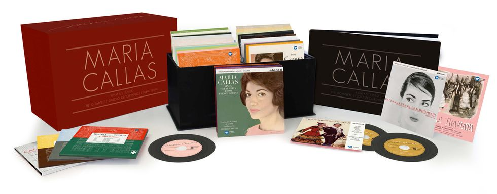 Maria Callas: tutte le opere rimasterizzate