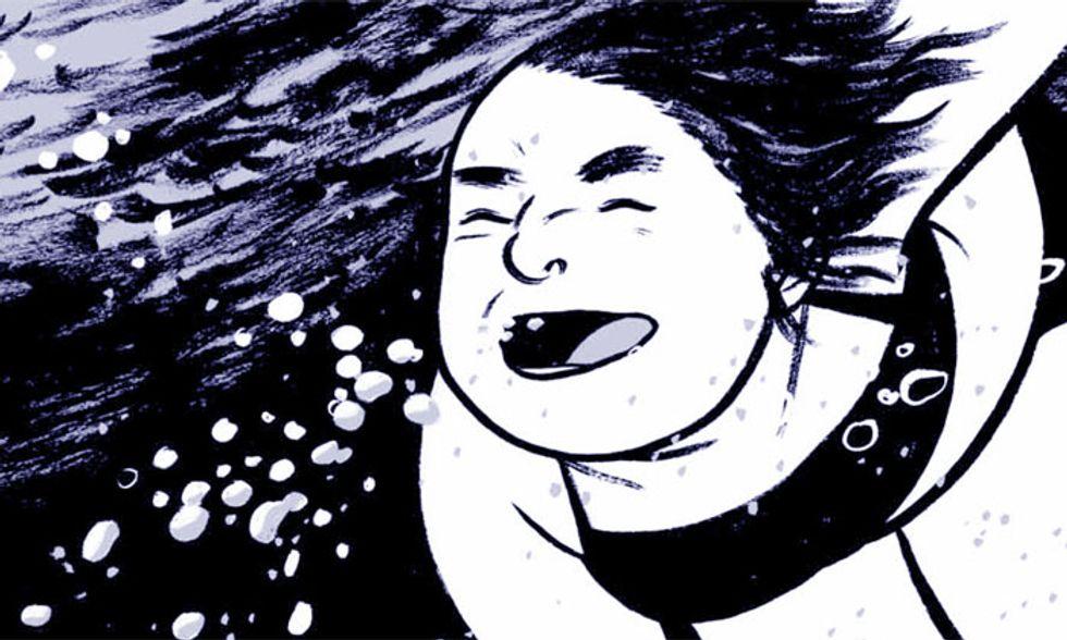 'E la chiamano estate': una vacanza raccontata a fumetti