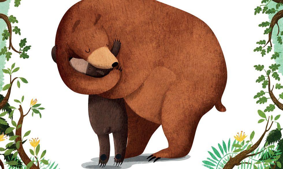 'Chi vuole un abbraccio?', due orsi ci spiegano la gentilezza