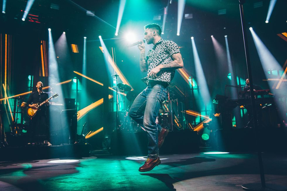 Maroon 5, la recensione del concerto all'iTunes Festival