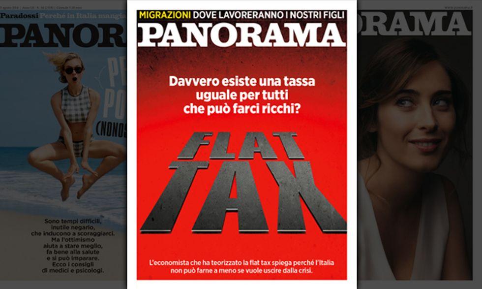 Flat tax, una tassa come speranza