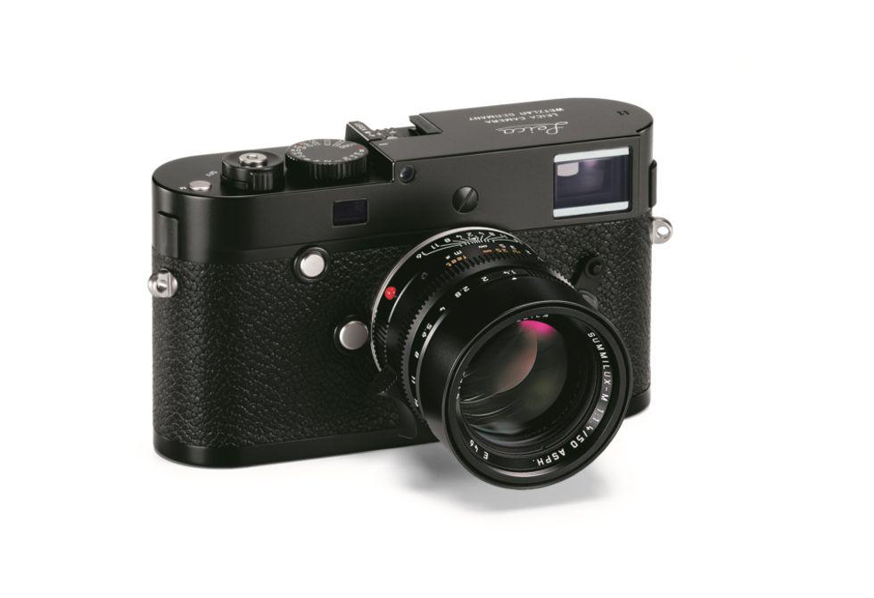 Leica M-P: un gioiello in zaffiro