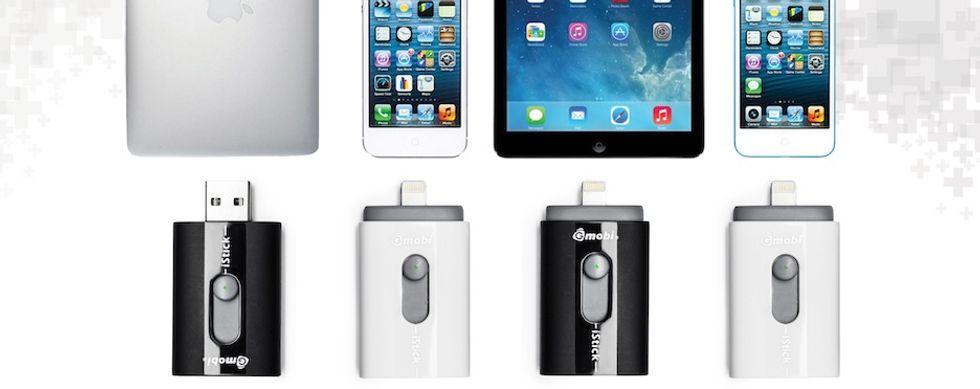 iPhone: memoria piena? Arriva iStick