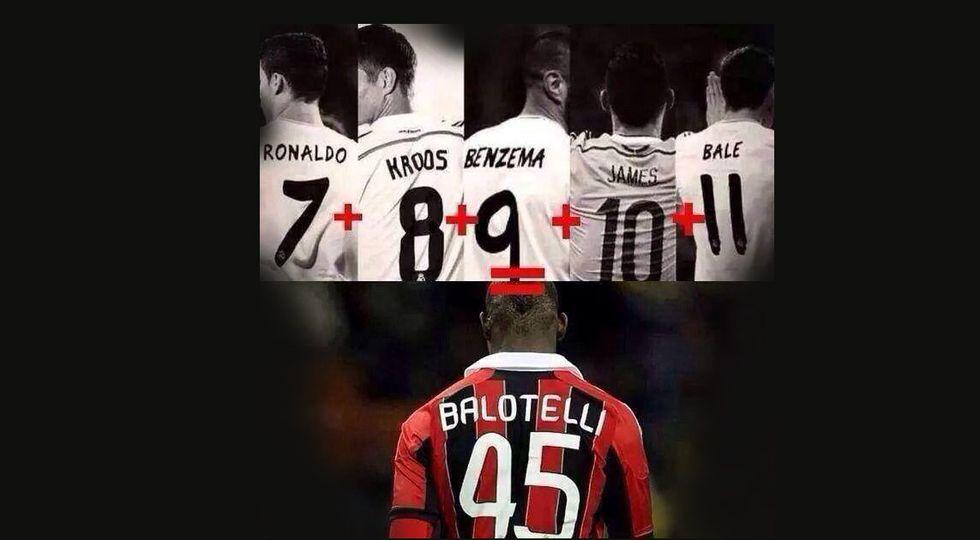 A Liverpool è Balotelli-mania, il 45 vale quanto Real e Manchester