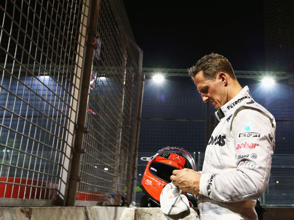 Schumacher va a casa, però serve tempo