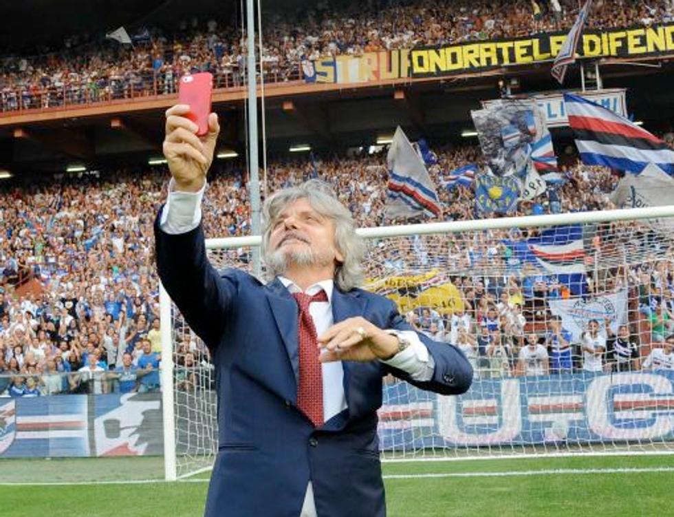 """Ferrero fa sognare la Sampdoria: """"Ecco il nuovo stadio sul mare"""""""