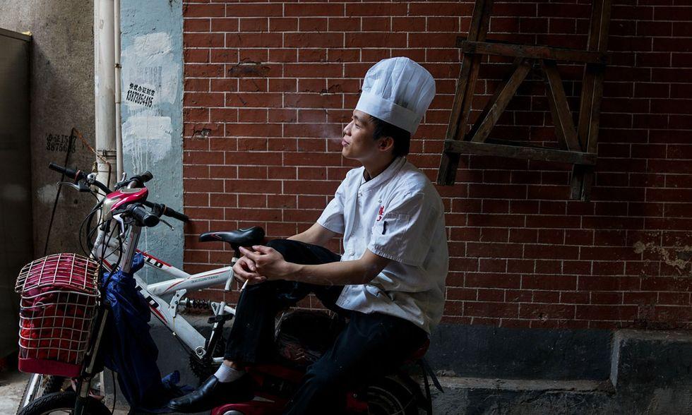 Cinesi, foto di vita quotidiana