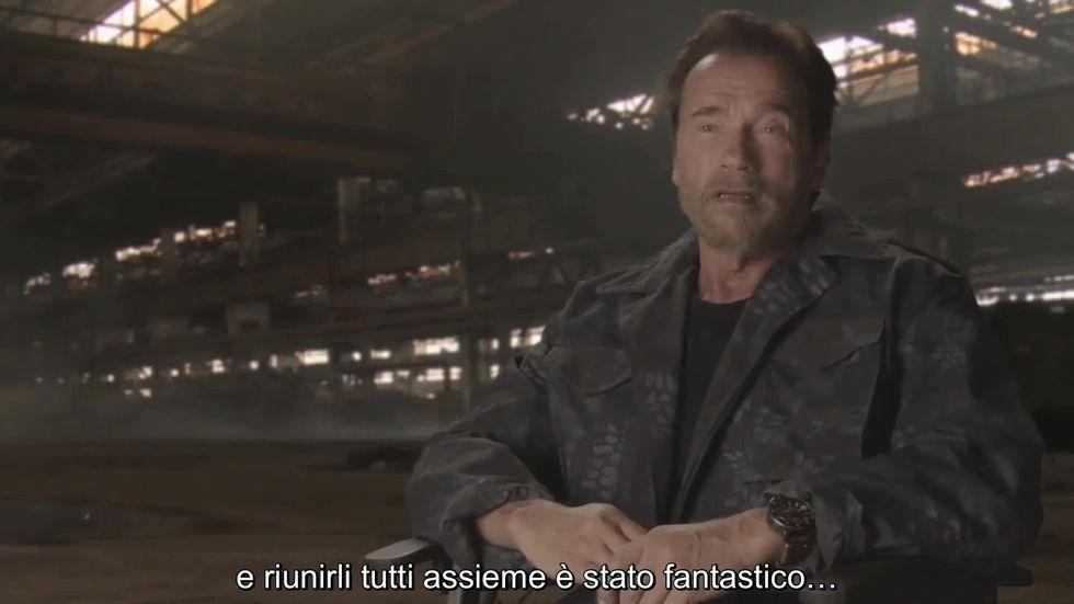 I Mercenari 3 - The Expendables: Arnold Schwarzenegger parla del cast del film - Video