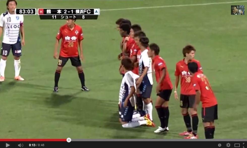 In Giappone inventano la barriera in ginocchio