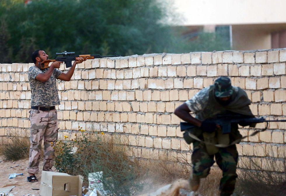 Polveriera Libia: la mappa degli scontri