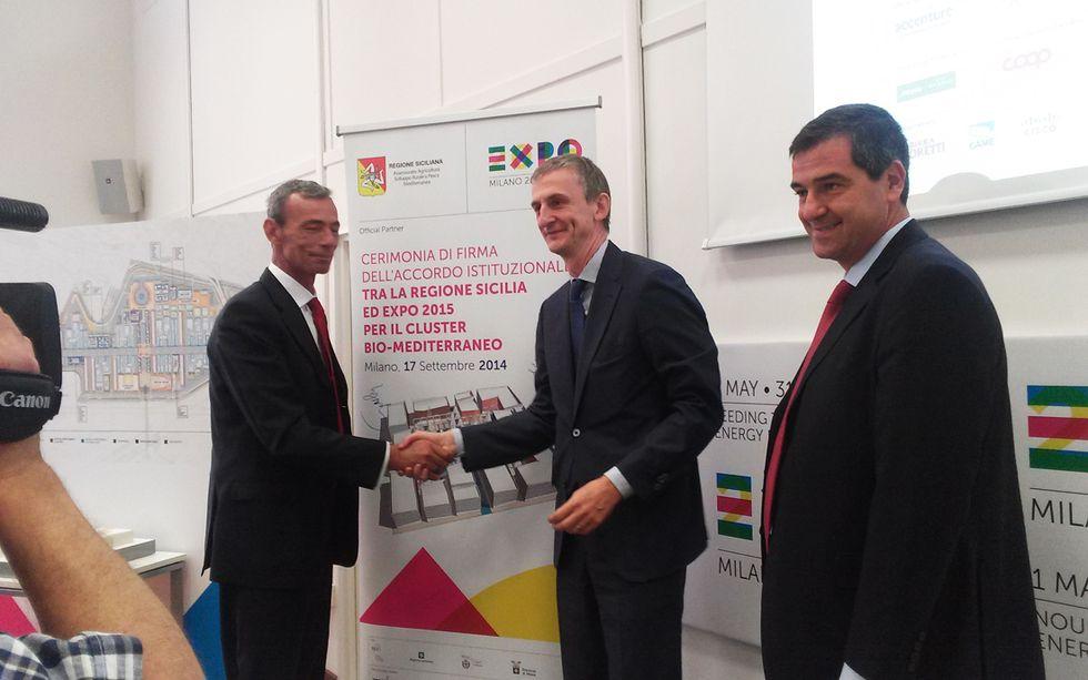 La Sicilia sbarca a Expo con il cluster Bio Mediterraneo