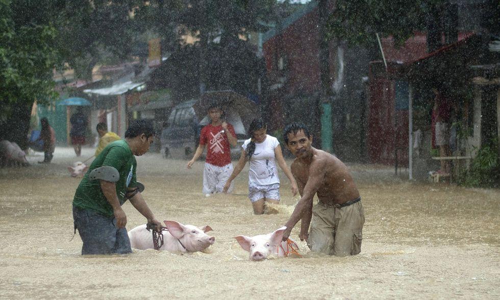 La tempesta tropicale Fung-Wong sulle Filippine
