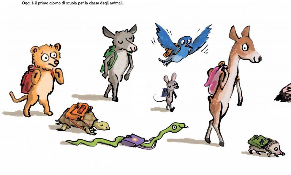 """""""Tutti a scuola!"""": il primo giorno degli animali"""