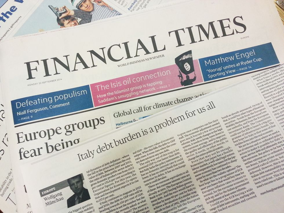 Il debito italiano mette a rischio l'euro