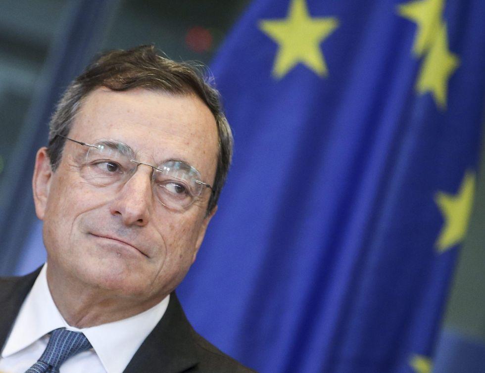 Draghi dà fiducia alle Borse