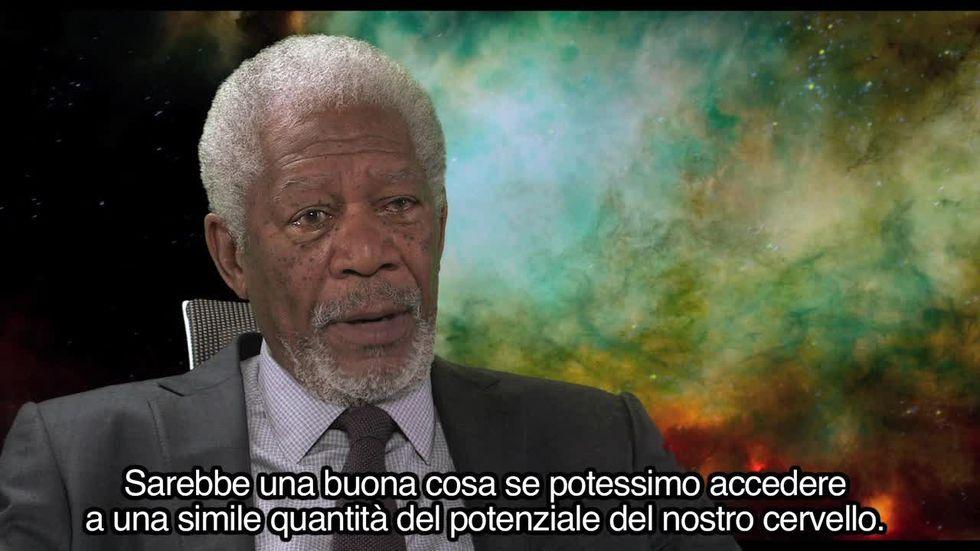 Lucy di Luc Besson - Videointervista a Morgan Freeman