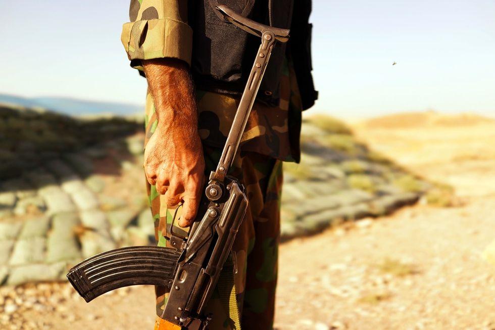 Soldati peshmerga