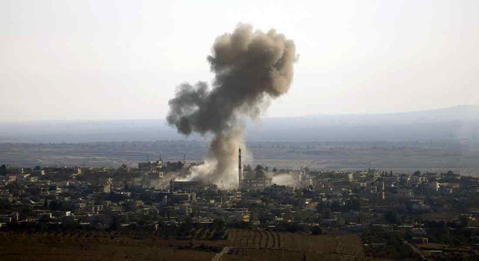 Raid in Siria