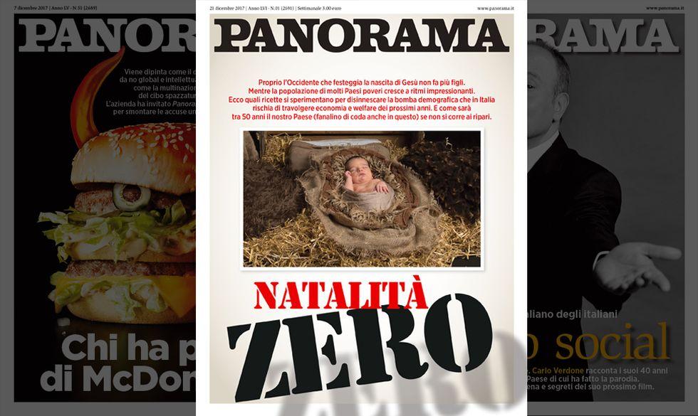 copertina Panorama 21 dicembre 2017