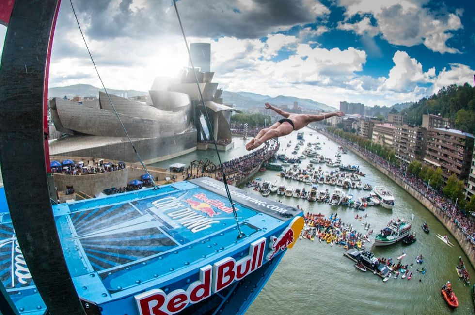 Red Bull Cliff Diving World 2014: gli angeli di Bilbao