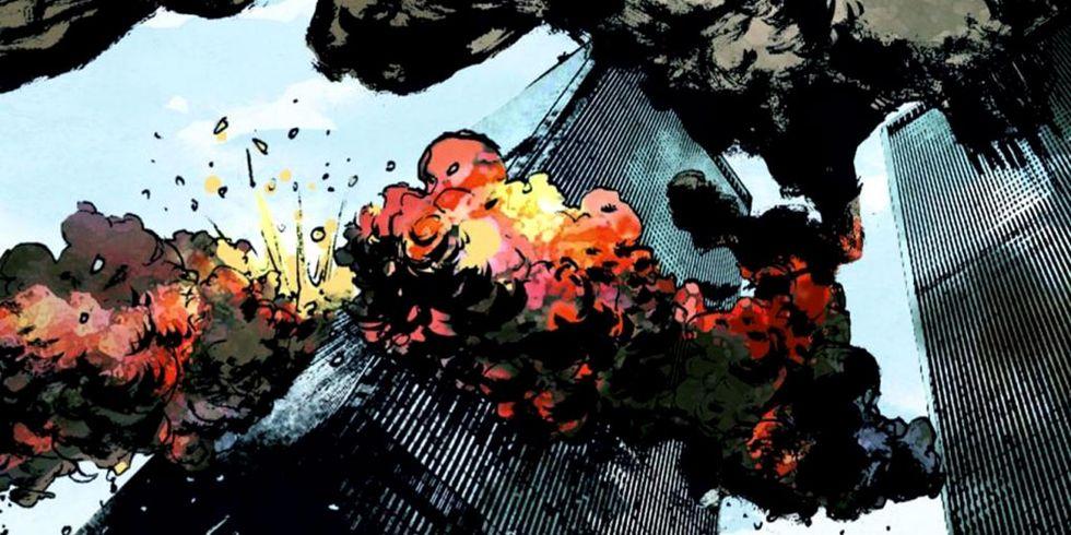 9/11: un fumetto per rivivere il drammatico attentato alle Torri Gemelle dell'11 Settembre 2001