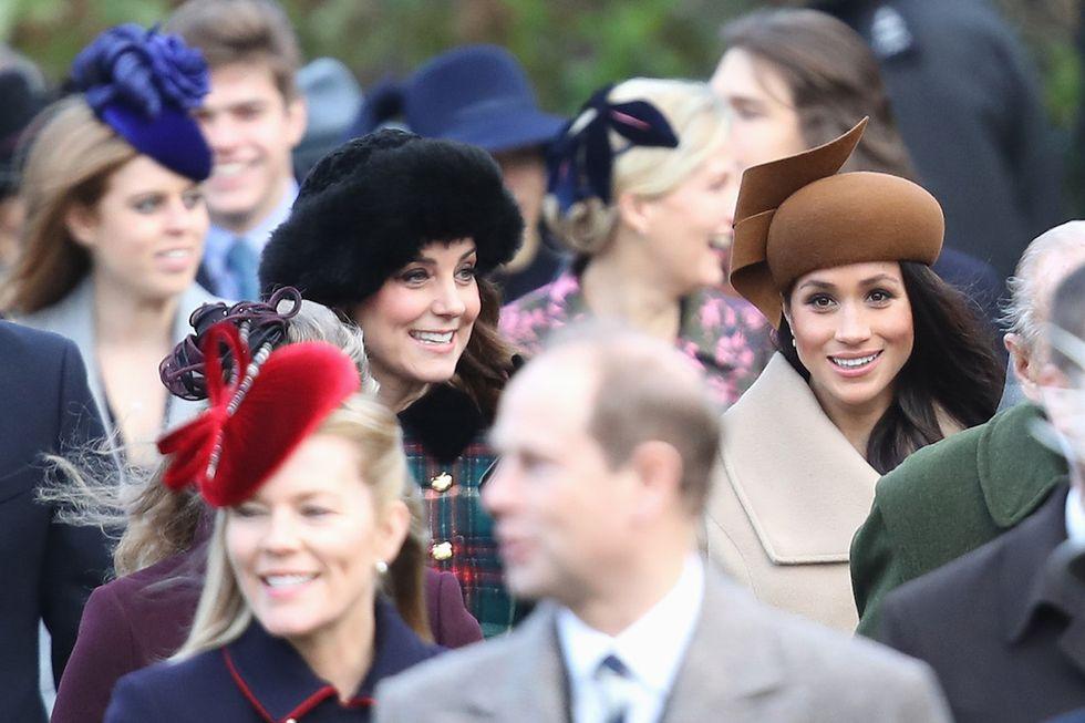 Kate Middleton e Meghan Markle