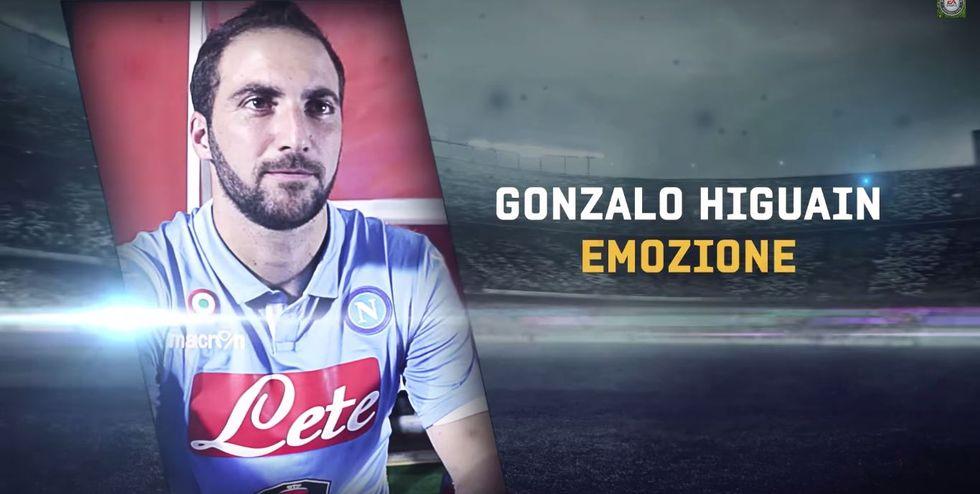 """Gonzalo Higuain: """"Vi presento Fifa 15"""""""