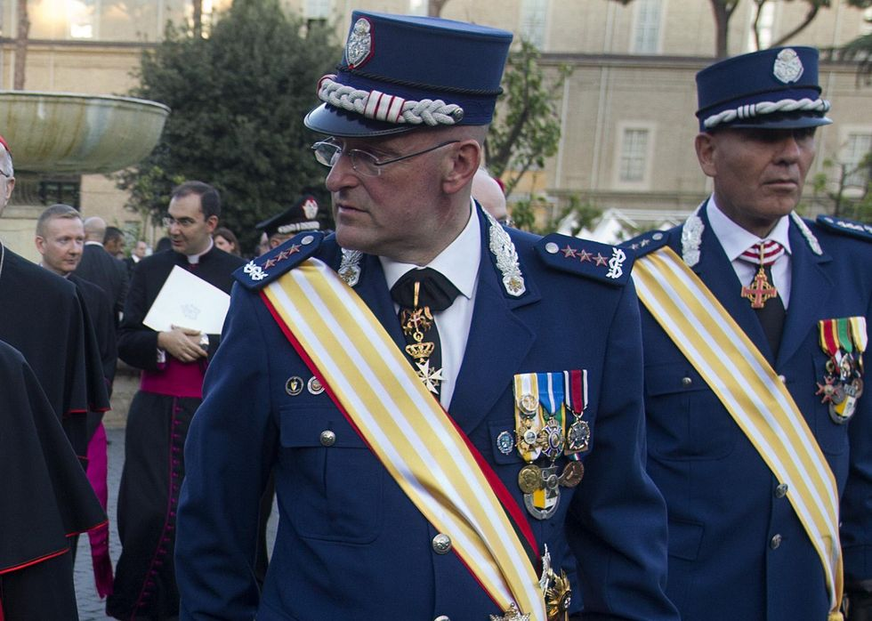 Il comandante Domenico Giani