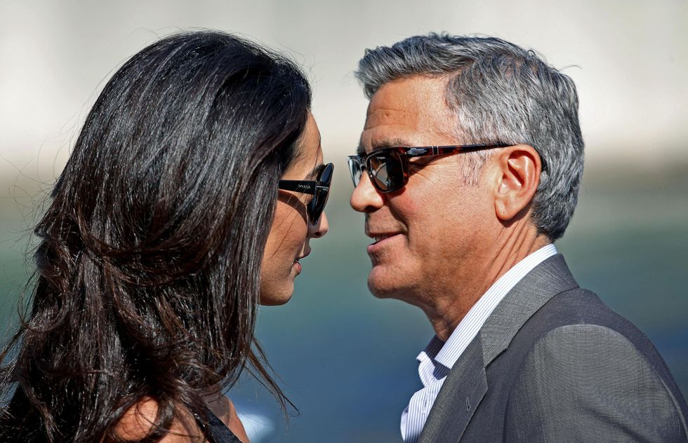 George Clooney e Amal Alamuddin sono arrivati a Venezia