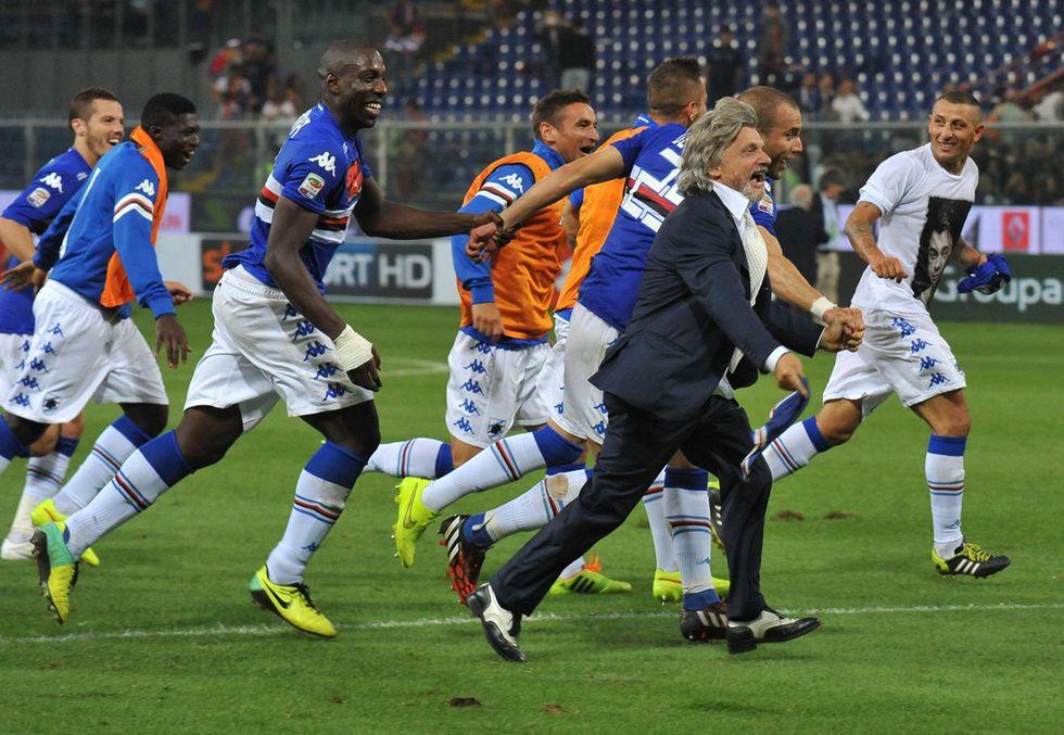 Sampdoria: Ferrero show prima e dopo il derby