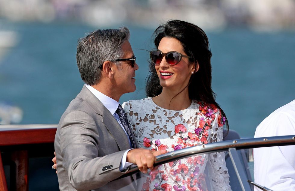 George e Amal Clooney, bimbo in arrivo