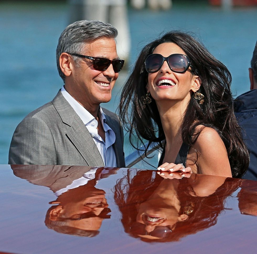 George Clooney e Amal Alamuddin: luna di miele con tuoni e fulmini