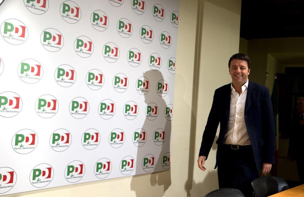 """Renzi: """"Non mi interessano le tessere"""""""