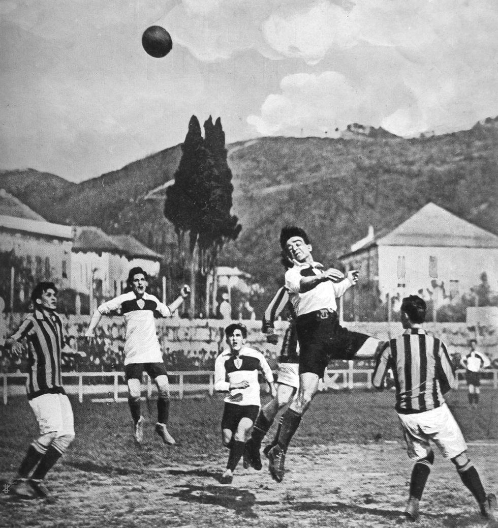 Il Genoa e lo scudetto della guerra: il campionato 1914-1915